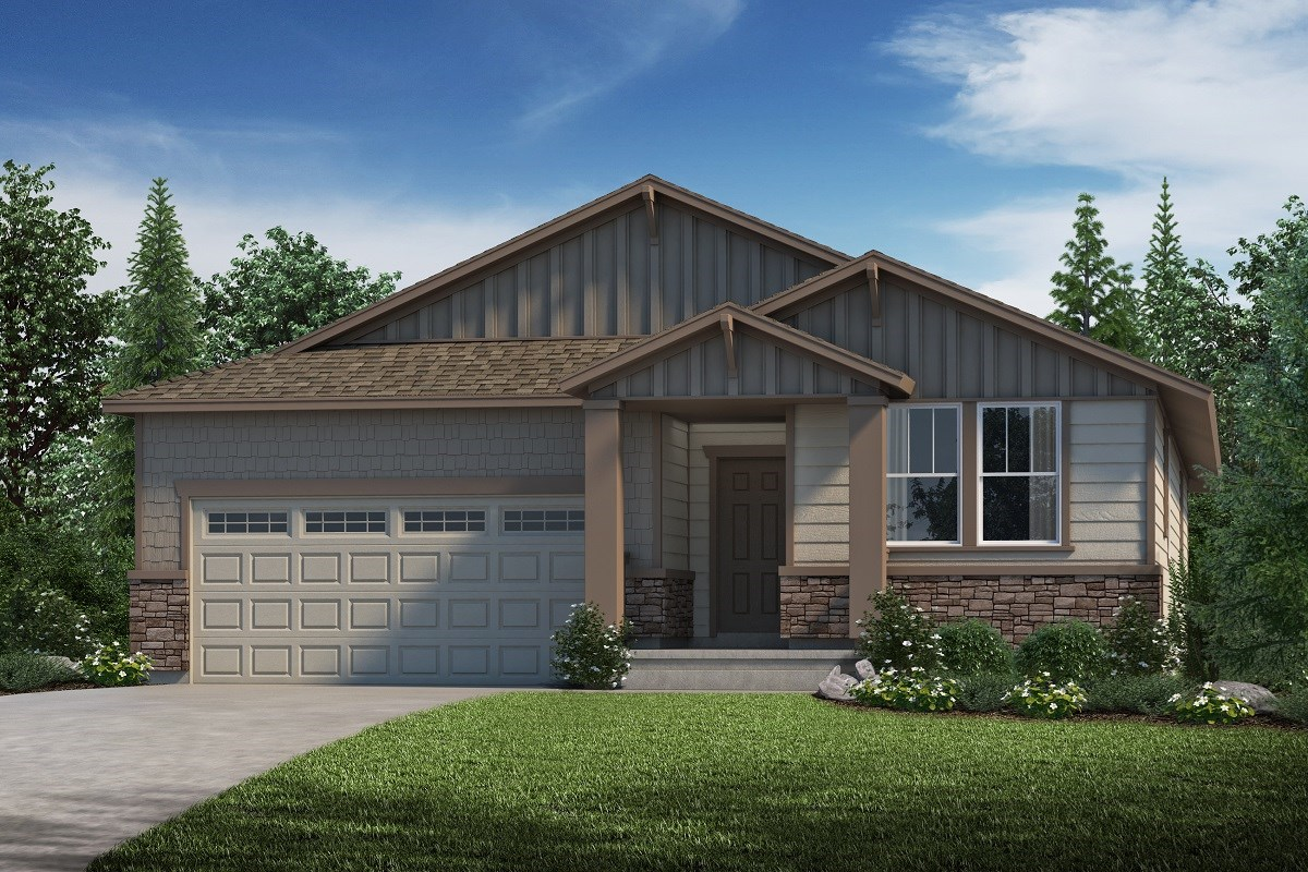 New Homes in Parker, CO - Stone Creek Ranch Hawthorn - Elevation B