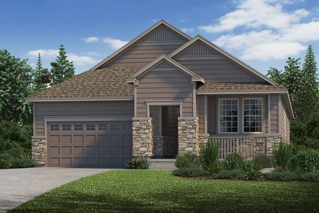 New Homes in Parker, CO - Hawthorn - Elevation C