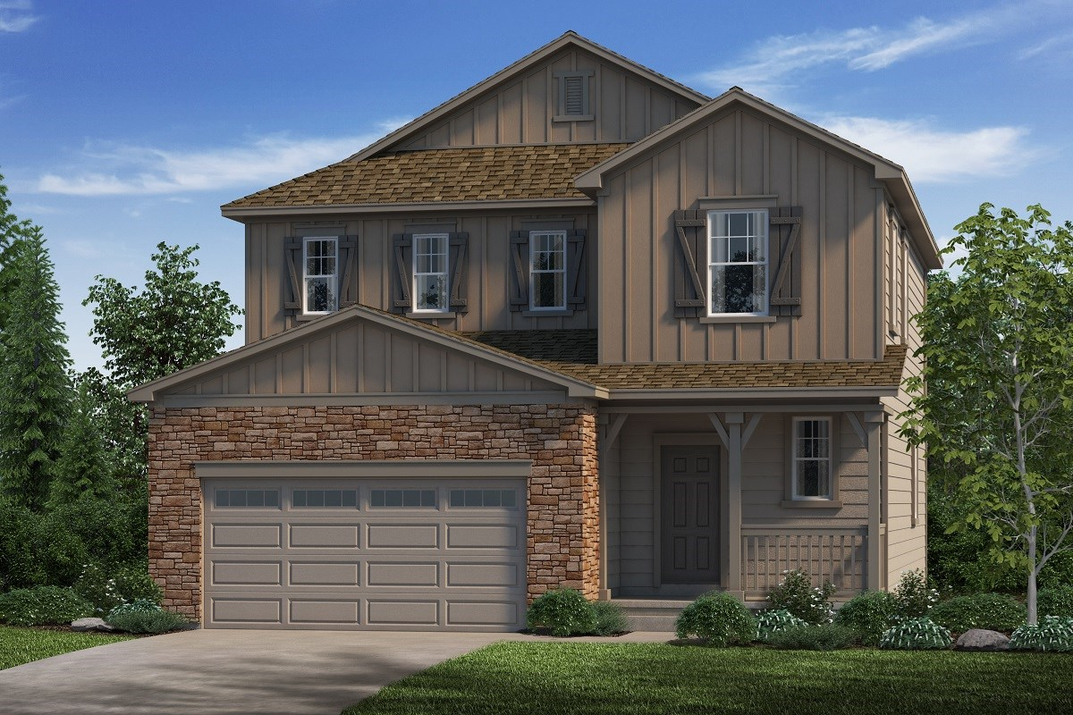 New Homes in Castle Rock, CO - Stone Creek Ranch Kittredge - Elevation A
