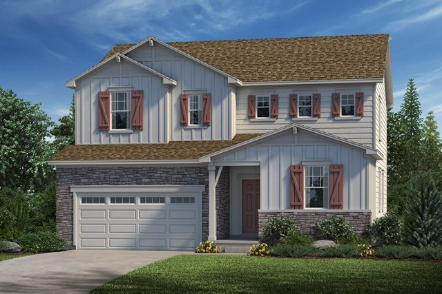 New Homes in Parker, CO - Lafayette - Elevation A
