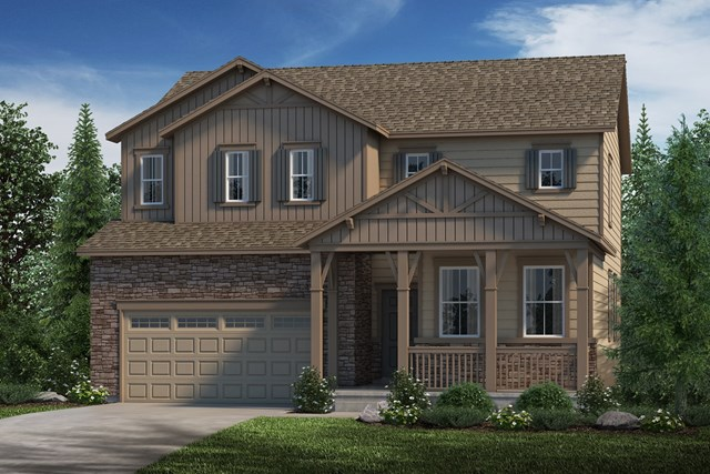 New Homes in Parker, CO - Lafayette - Elevation B