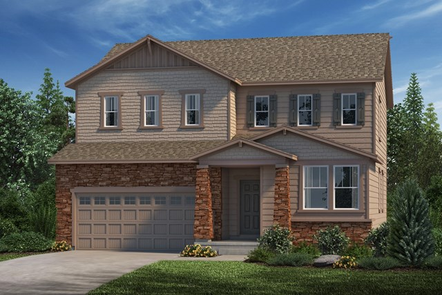 New Homes in Parker, CO - Lafayette - Elevation C