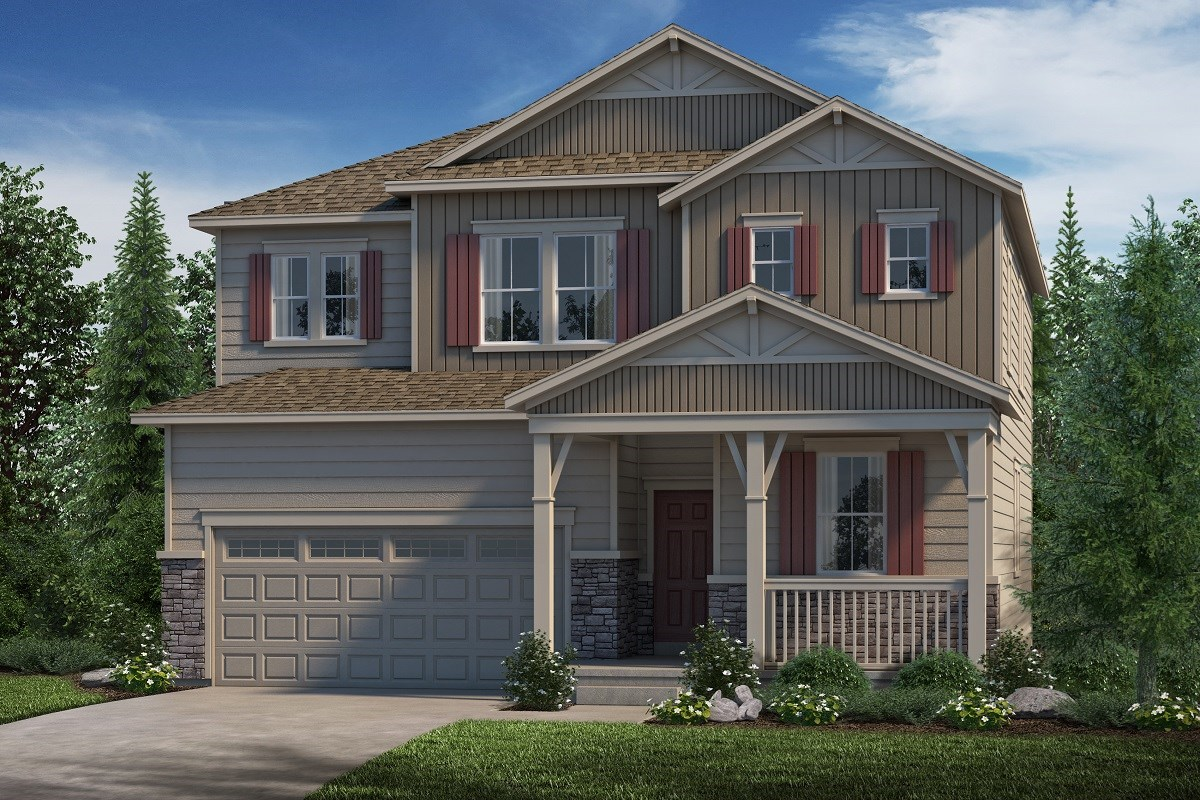 New Homes in Castle Rock, CO - Stone Creek Ranch Loveland - Elevation B