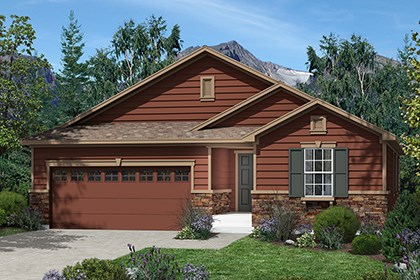 New Homes in Dacono, CO - Conifer Elevation A
