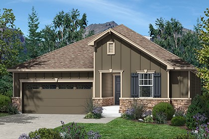 New Homes in Dacono, CO - Conifer Elevation B