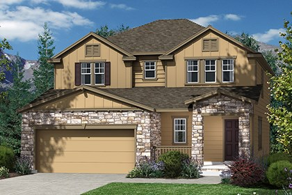 New Homes in Dacono, CO - Elevation B