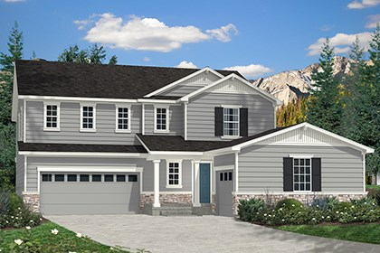 New Homes in Dacono, CO - Elevation A