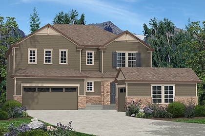 New Homes in Dacono, CO - Elevation C