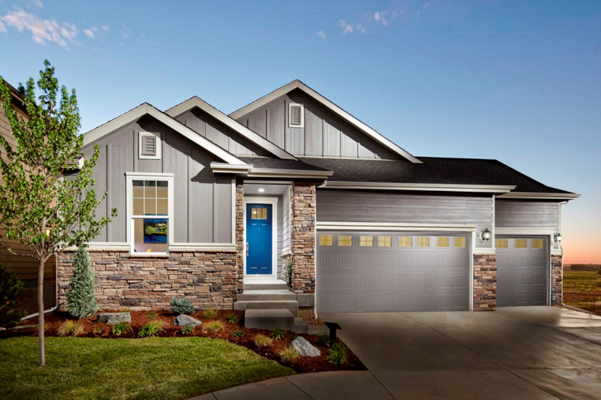 New Homes in Dacono, CO - Sweetgrass - Legacy Collection Hawthorn 1942 Model Home