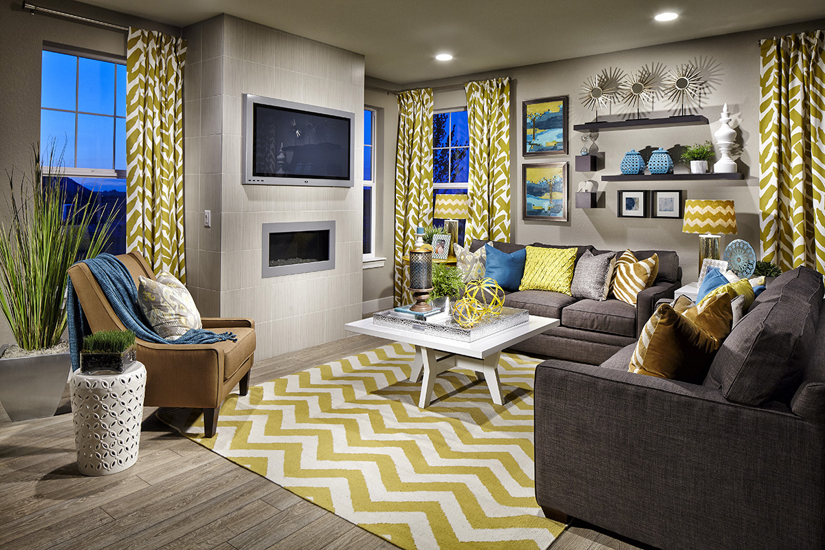 New Homes In Dacono, CO   Sweetgrass   Legacy Collection Hawthorn Family  Room