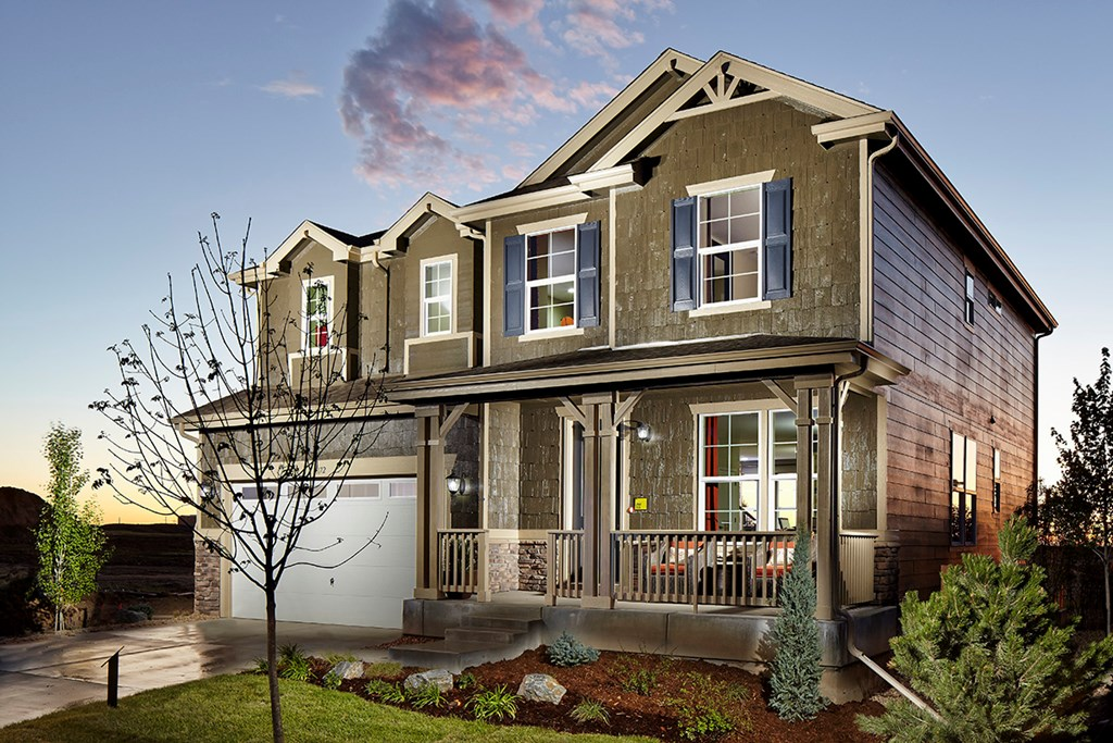 KB model home in Dacono, CO