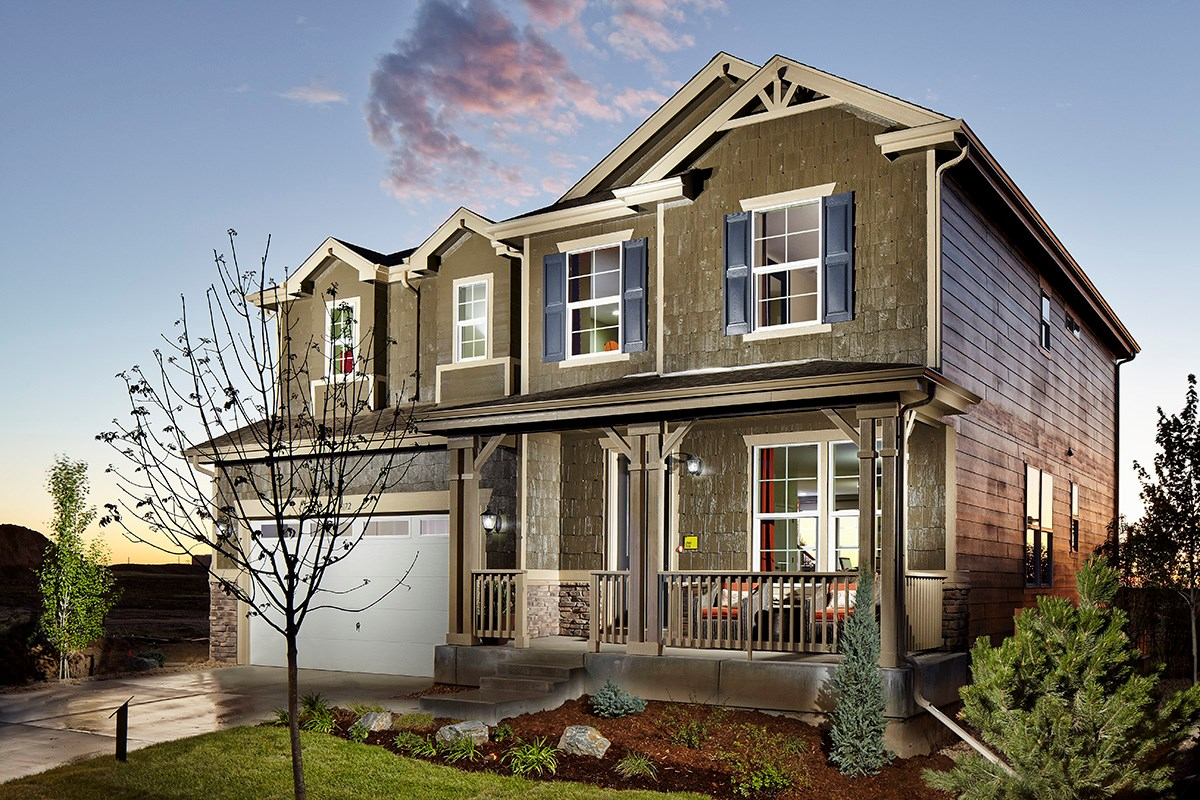 New Homes in Dacono, CO - Sweetgrass - Heritage Collection Lewis 2524 Model Home