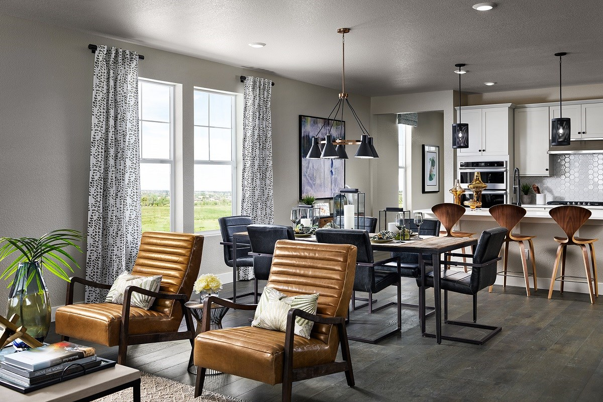 New Homes in Castle Rock, CO - Terrain Ambience Great Room