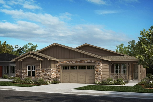 New Homes in Castle Rock, CO - Aura and Ambience - Elevation A
