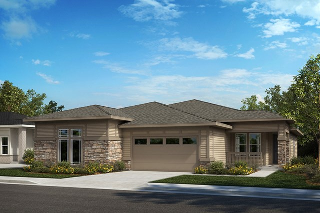 New Homes in Castle Rock, CO - Ambience and Outlook - Elevation B