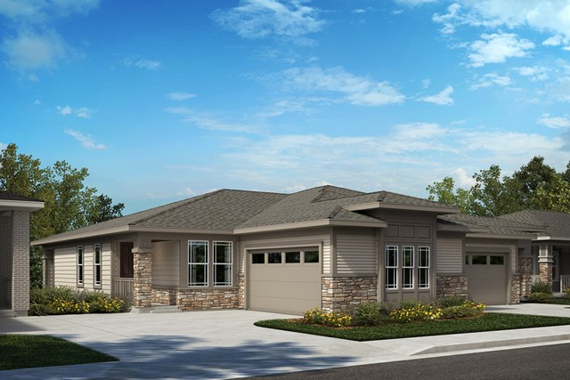 New Homes in Castle Rock, CO - Canvas and Aura - Elevation B