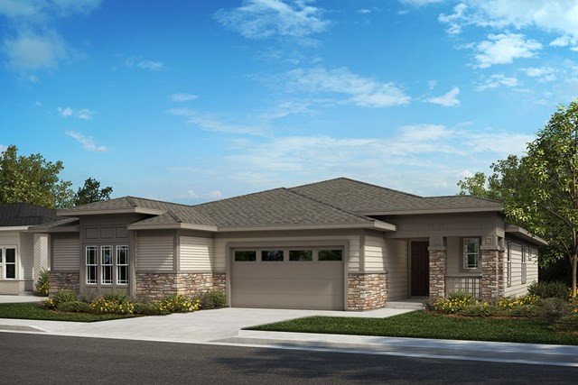 New Homes in Castle Rock, CO - Aura and Canvas - Elevation B