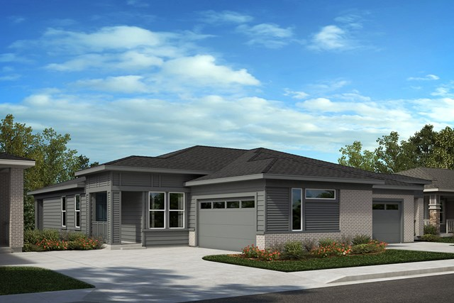 New Homes in Castle Rock, CO - Aura and Canvas - Elevation C