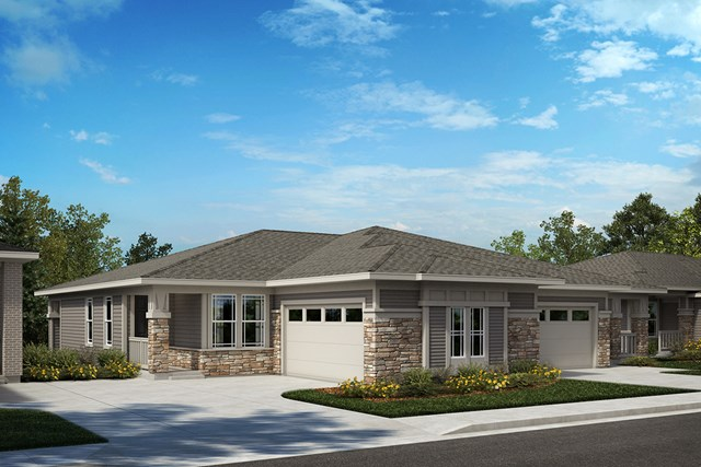 New Homes in Castle Rock, CO - Compass and Aura - Elevation B