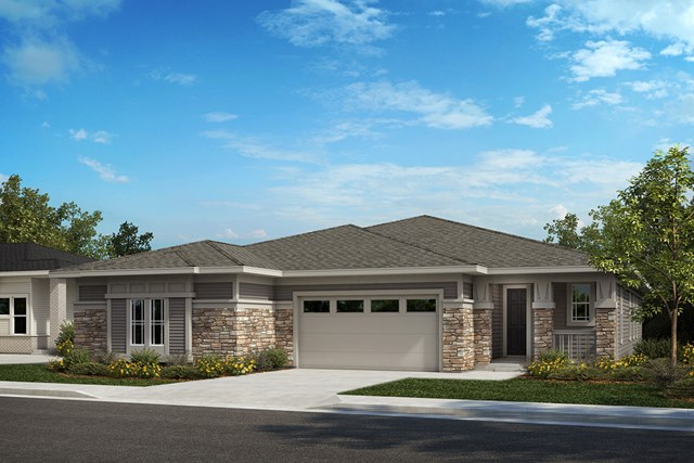 New Homes in Castle Rock, CO - Aura and Compass - Elevation B