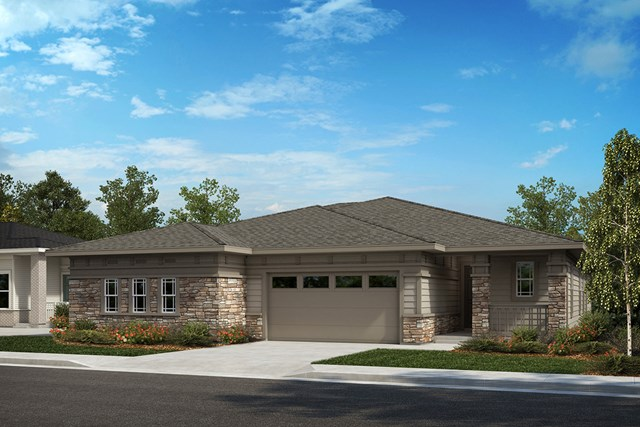 New Homes in Castle Rock, CO - Compass and Mural - Elevation B