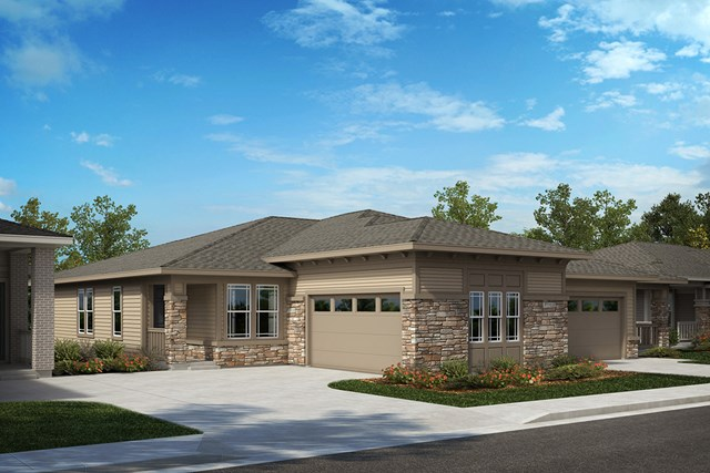 New Homes in Castle Rock, CO - Compass and Outlook - Elevation B