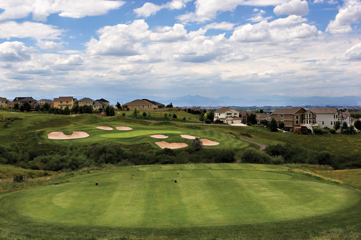New Homes in Aurora, CO - The Reserve at Ponderosa Ridge Close to several golf courses