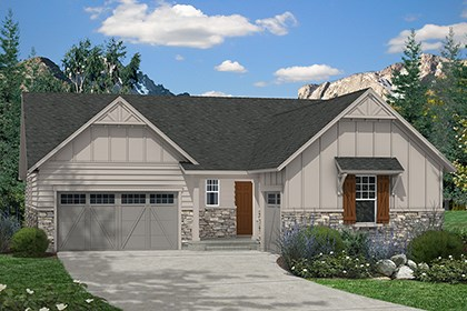 New Homes in Aurora, CO - Barbera Elevation A