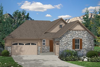 New Homes in Aurora, CO - Barbera Elevation B