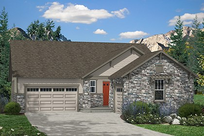 New Homes in Aurora, CO - Barbera Elevation C