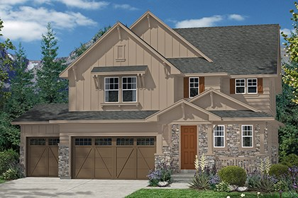 New Homes in Aurora, CO - Moreto Elevation A