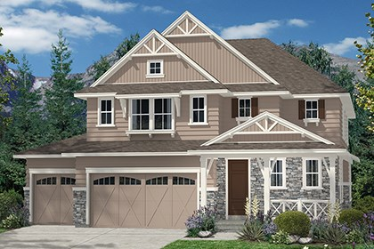 New Homes in Aurora, CO - Moreto Elevation B