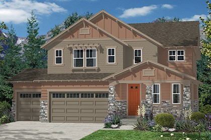 New Homes in Aurora, CO - Moreto Elevation C