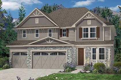 New Homes in Aurora, CO - Elevation B