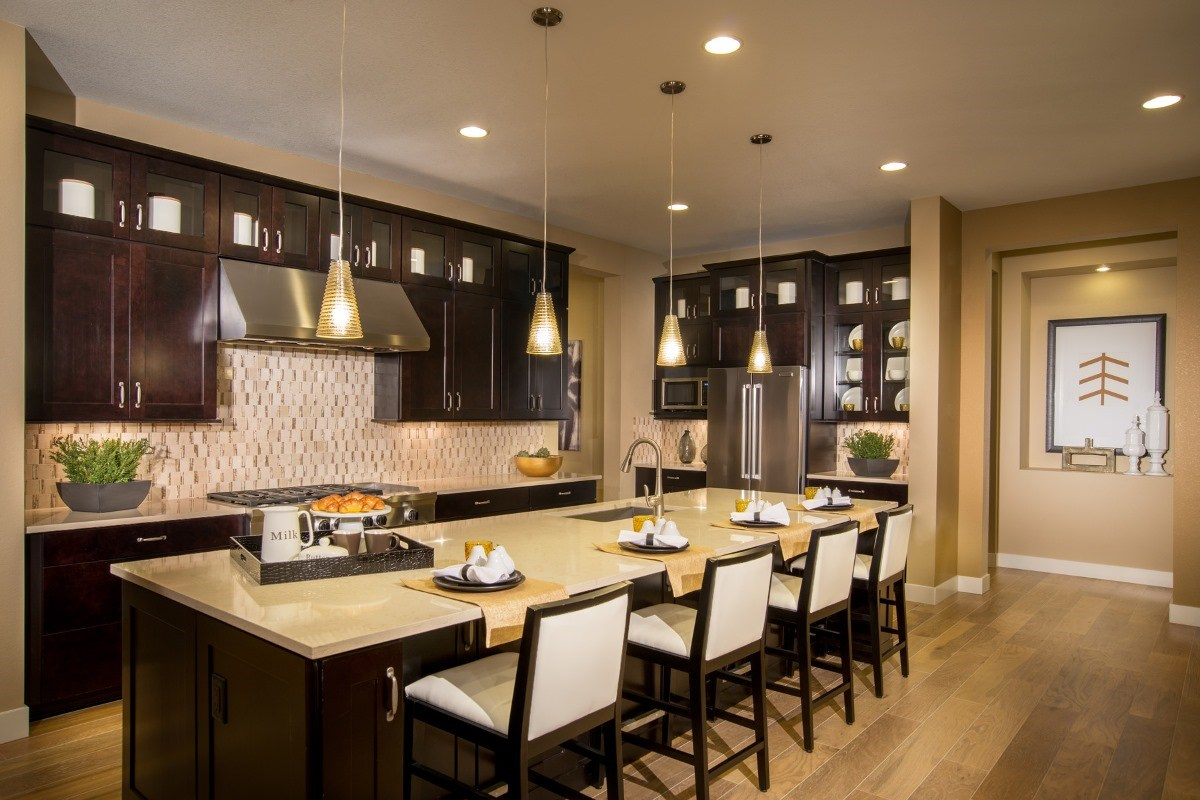 New Homes in Aurora, CO - The Estates at Ponderosa Ridge Domina 2605 Kitchen