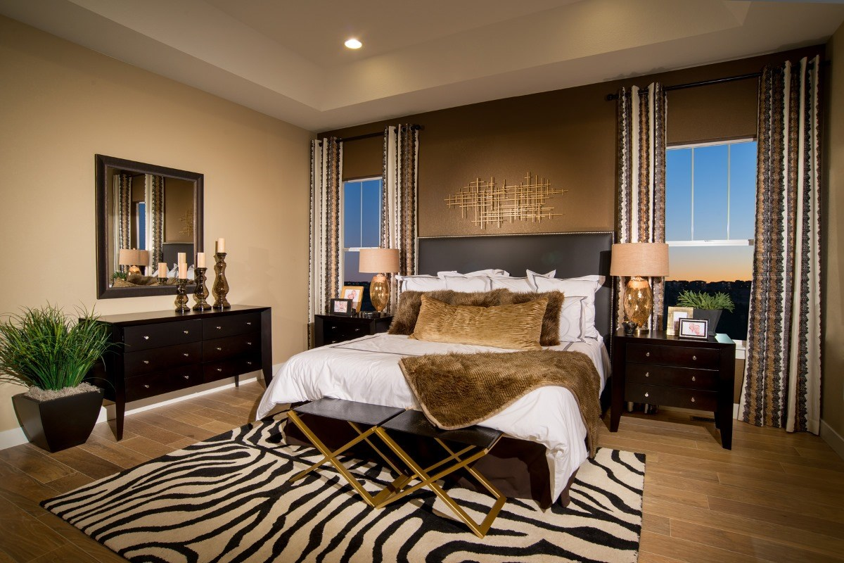 New Homes in Aurora, CO - The Estates at Ponderosa Ridge Domina 2605 Master Bedroom