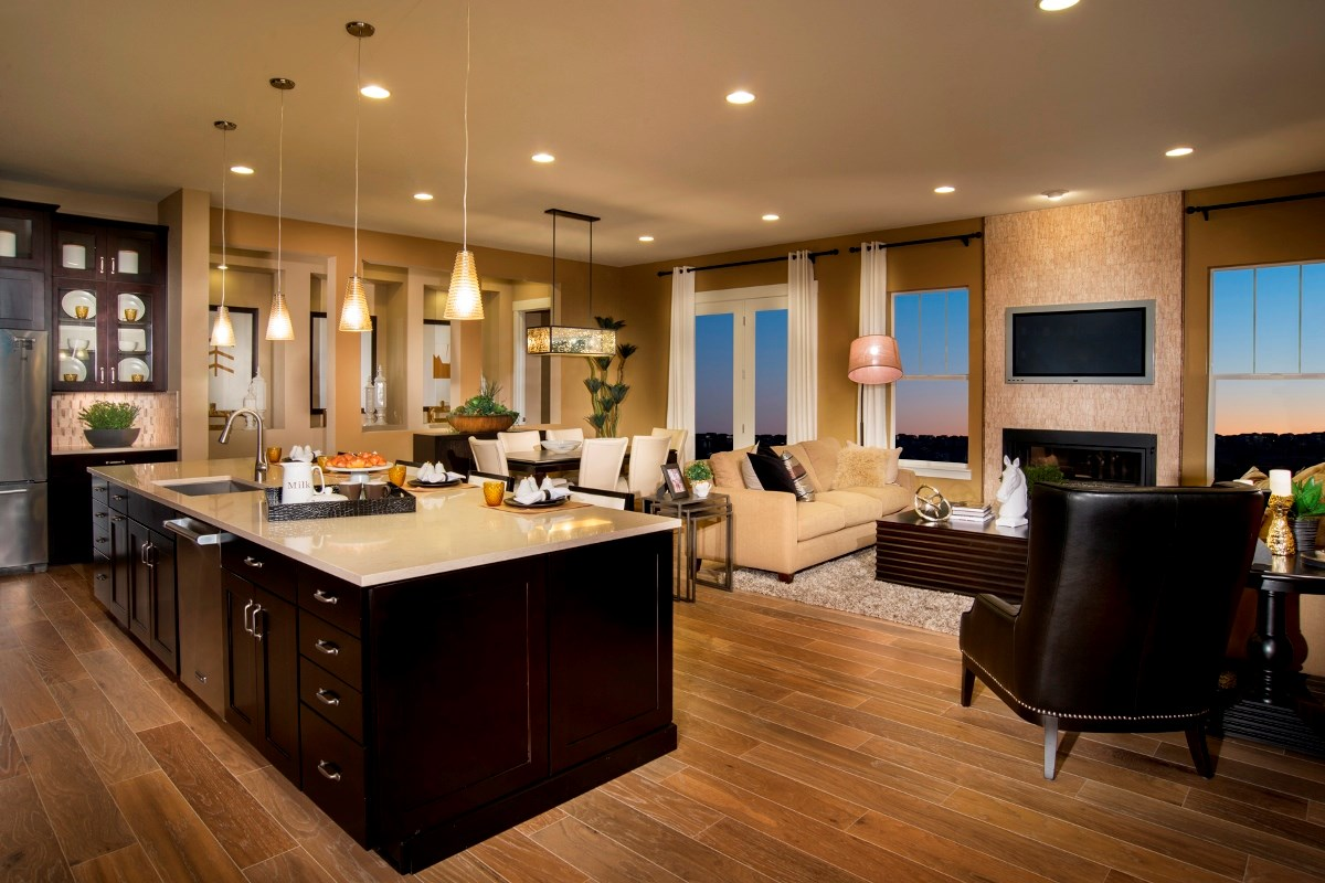 New Homes in Aurora, CO - The Estates at Ponderosa Ridge Domina 2605 Great Room