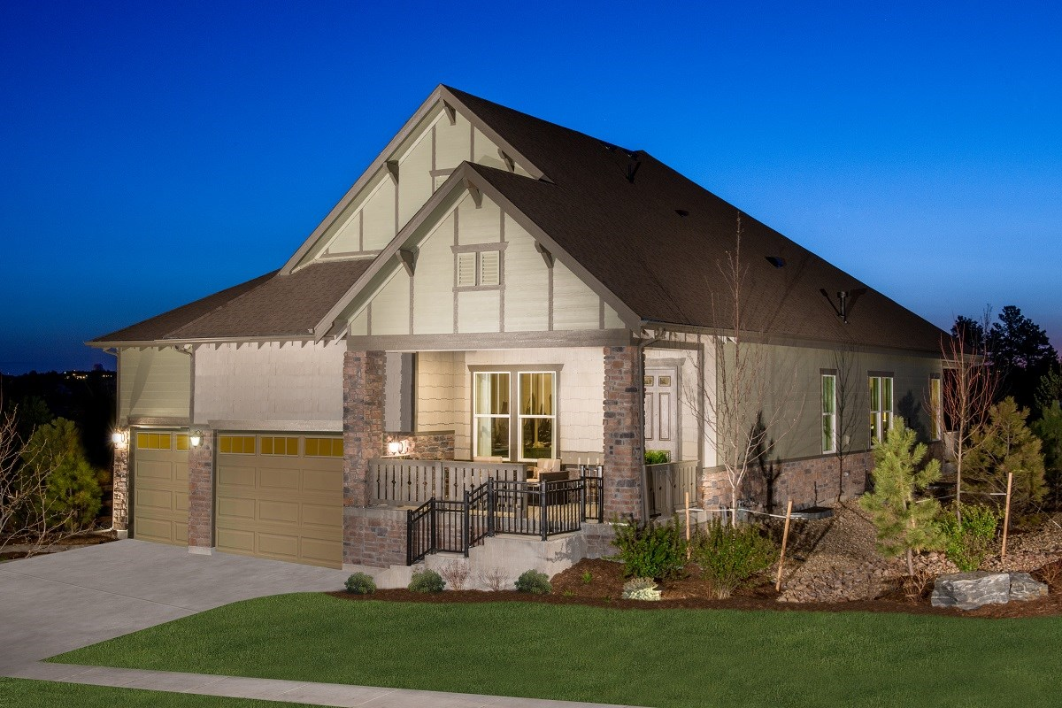 New Homes in Aurora, CO - The Estates at Ponderosa Ridge Domina 2605 Modeled