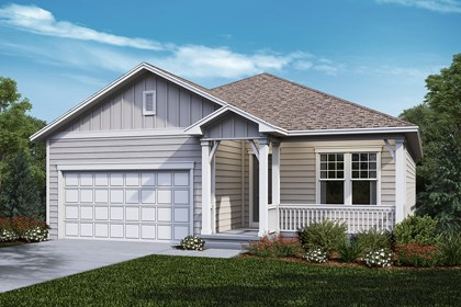 New Homes in Castle Rock, CO - Cottonwood - Elevation A