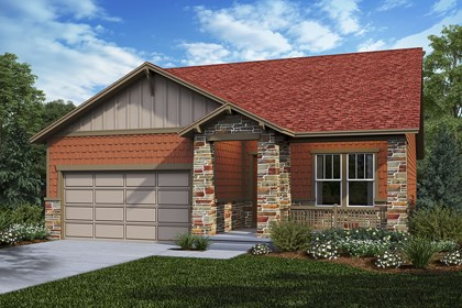 New Homes in Castle Rock, CO - Cottonwood - Elevation C