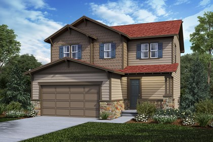 New Homes in Castle Rock, CO - Deckers - Elevation C