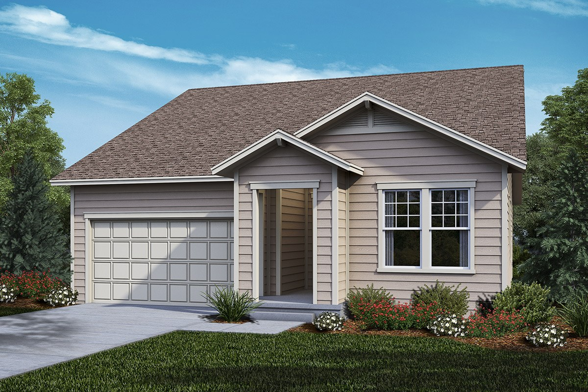 New Homes in Castle Rock, CO - The Meadows Crestview - Elevation A