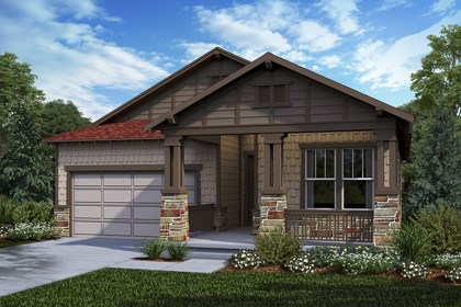 New Homes in Castle Rock, CO - Crestview - Elevation C