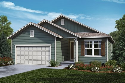 New Homes in Castle Rock, CO - Chaucer - Elevation A