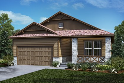 New Homes in Castle Rock, CO - Chaucer - Elevation B
