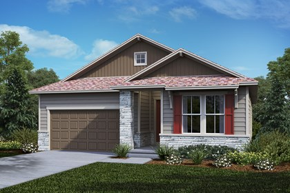 New Homes in Castle Rock, CO - Greenland - Elevation B