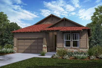 New Homes in Castle Rock, CO - Greenland - Elevation C