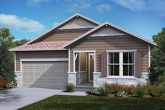 New Homes in Castle Rock, CO - Hawthorn - Elevation B