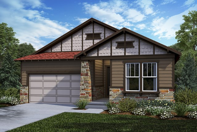 New Homes in Castle Rock, CO - Hawthorn - Elevation C