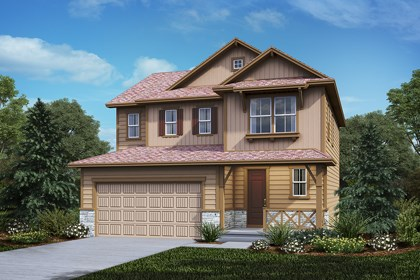 New Homes in Castle Rock, CO - Kittredge - Elevation B